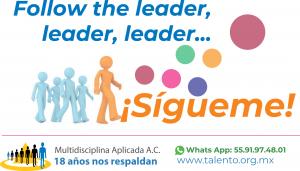 Follow the leader, leader, rider, ¡SÍGUEME!