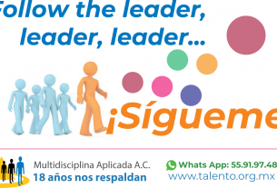Follow the leader, leader, rider, ¡SÍGUEME!